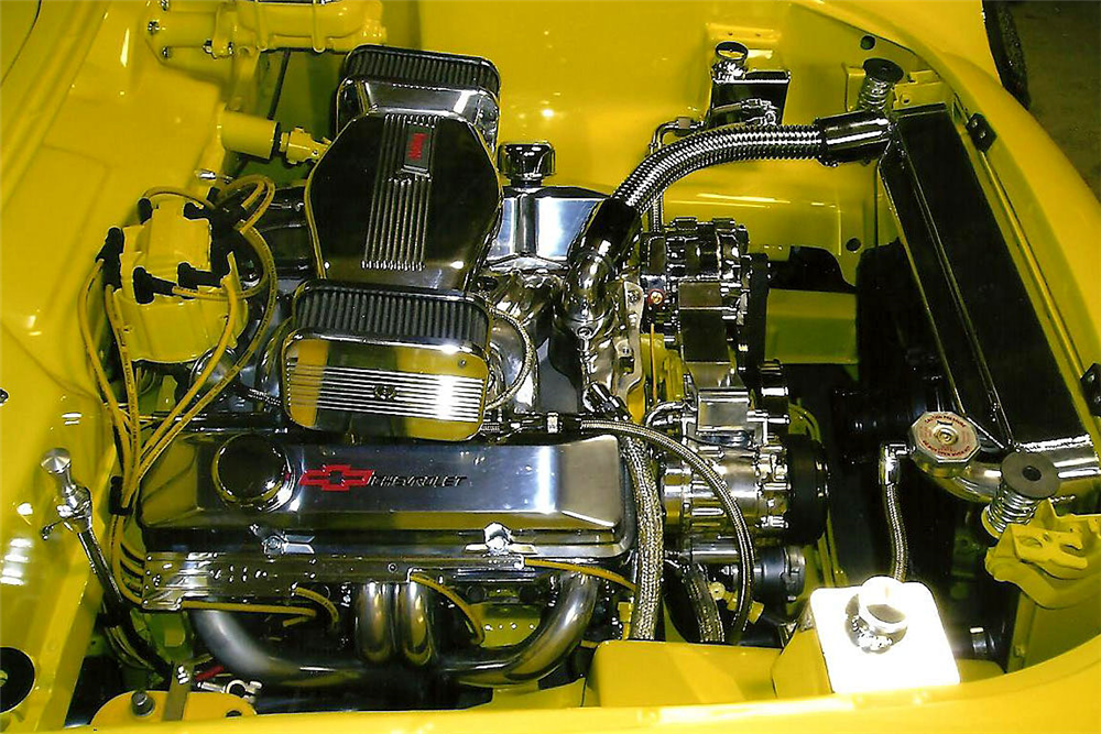 1954 CHEVROLET CORVETTE CUSTOM CONVERTIBLE - Engine - 188999