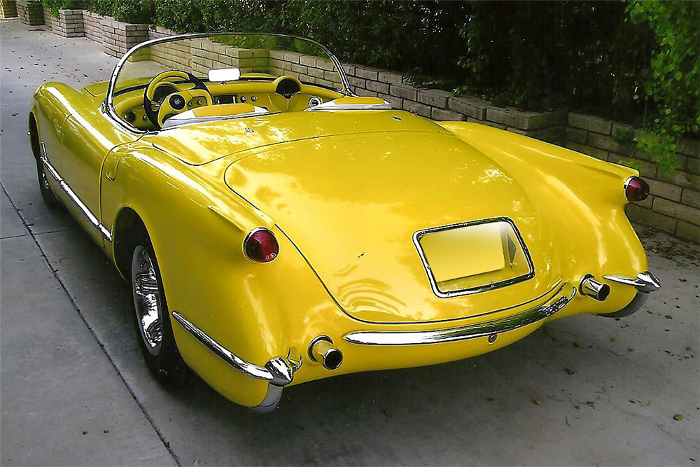 1954 CHEVROLET CORVETTE CUSTOM CONVERTIBLE - Rear 3/4 - 188999