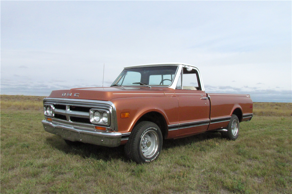 1970 GMC 1500 CUSTOM PICKUP - Front 3/4 - 189000