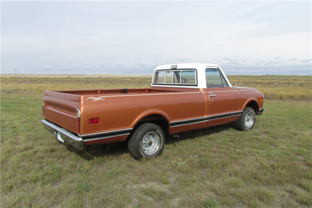 1970 GMC 1500 CUSTOM PICKUP - Rear 3/4 - 189000