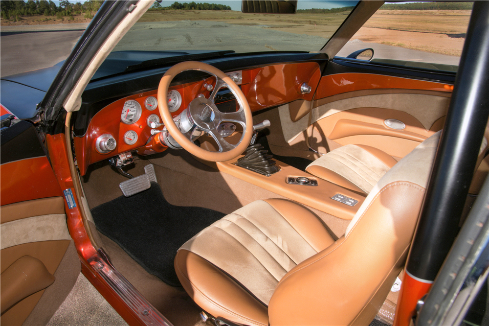 1968 CHEVROLET CAMARO CUSTOM COUPE - Interior - 189014