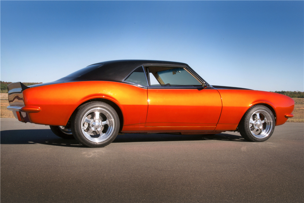 1968 CHEVROLET CAMARO CUSTOM COUPE - Rear 3/4 - 189014