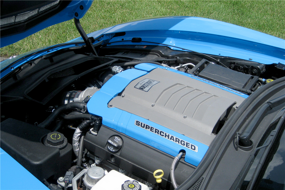 2014 CHEVROLET CORVETTE CUSTOM CONVERTIBLE - Engine - 189020
