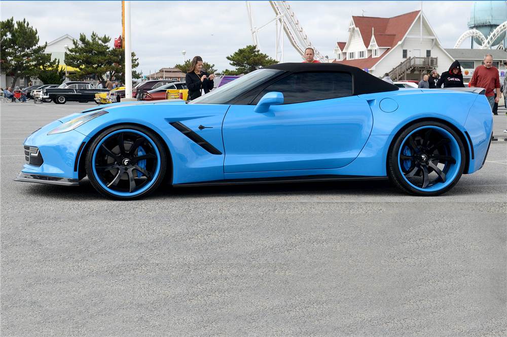 2014 CHEVROLET CORVETTE CUSTOM CONVERTIBLE - Side Profile - 189020