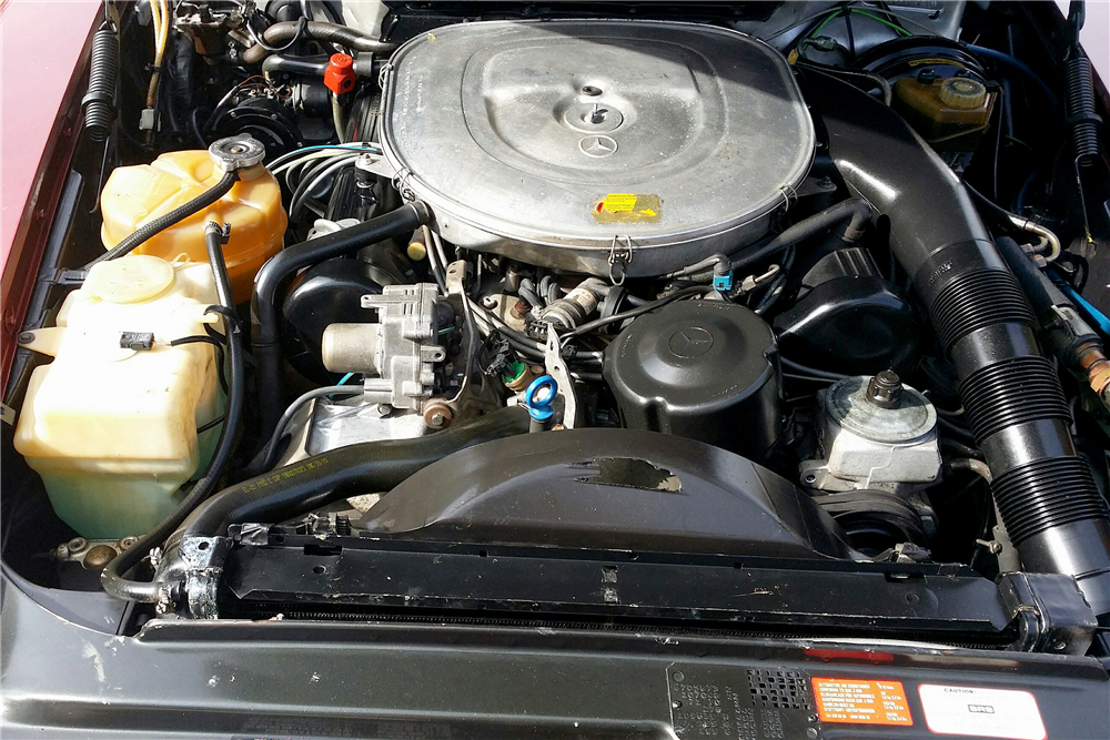 1986 MERCEDES-BENZ 560SL ROADSTER - Engine - 189021