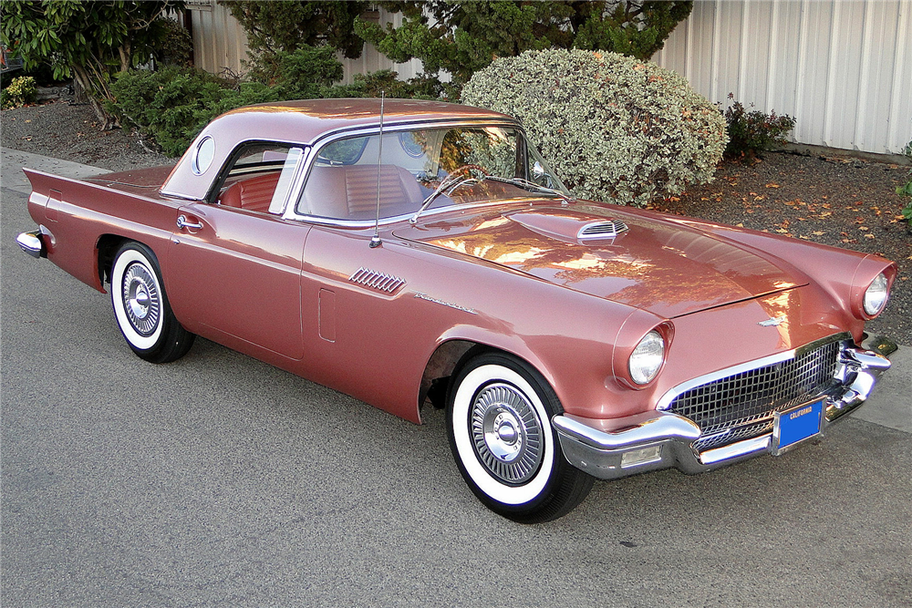 1957 FORD THUNDERBIRD CONVERTIBLE - Front 3/4 - 189023