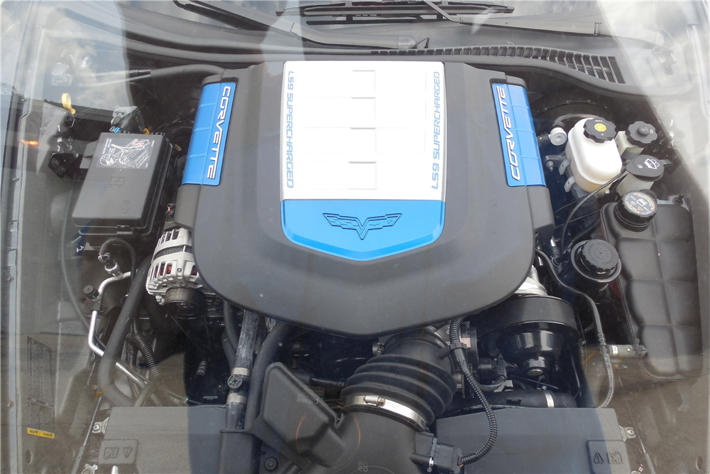 2009 CHEVROLET CORVETTE ZR1 - Engine - 189026