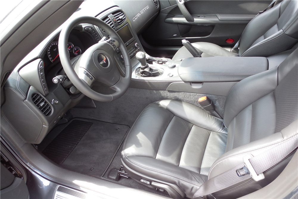 2009 CHEVROLET CORVETTE ZR1 - Interior - 189026