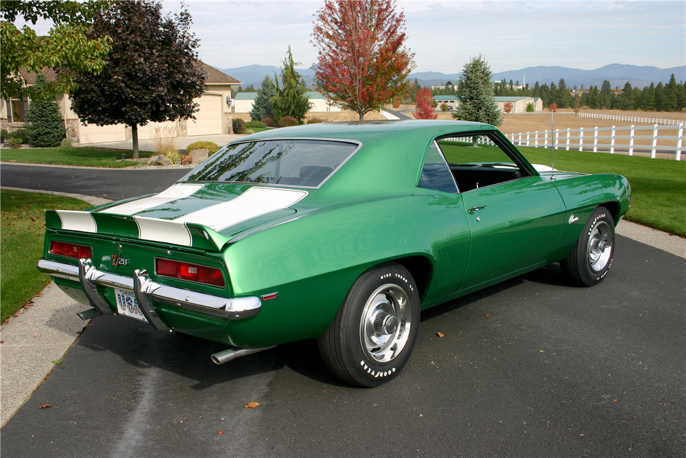 1969 CHEVROLET CAMARO Z/28 - Rear 3/4 - 189031