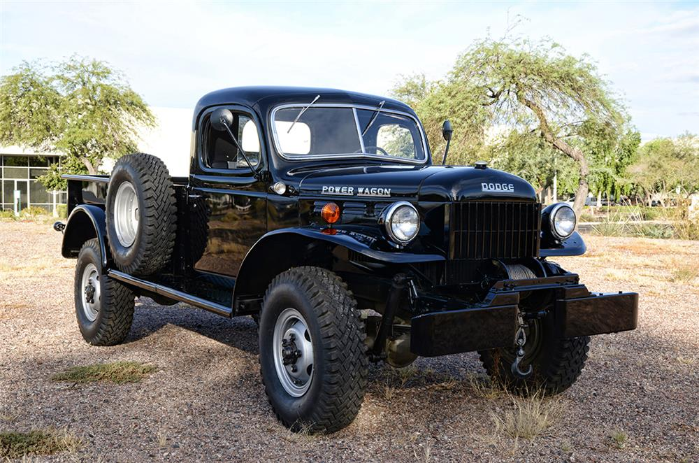 1953 DODGE POWER WAGON PICKUP - Front 3/4 - 189034