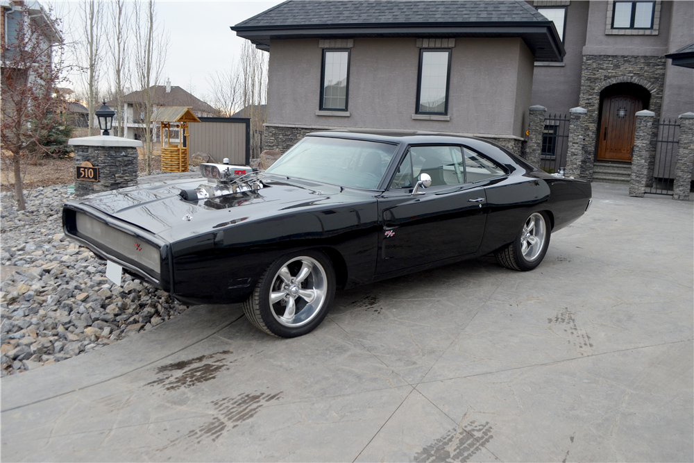 Dodge Challenger 1969 Black >> 1969 DODGE CHARGER CUSTOM COUPE - 189041