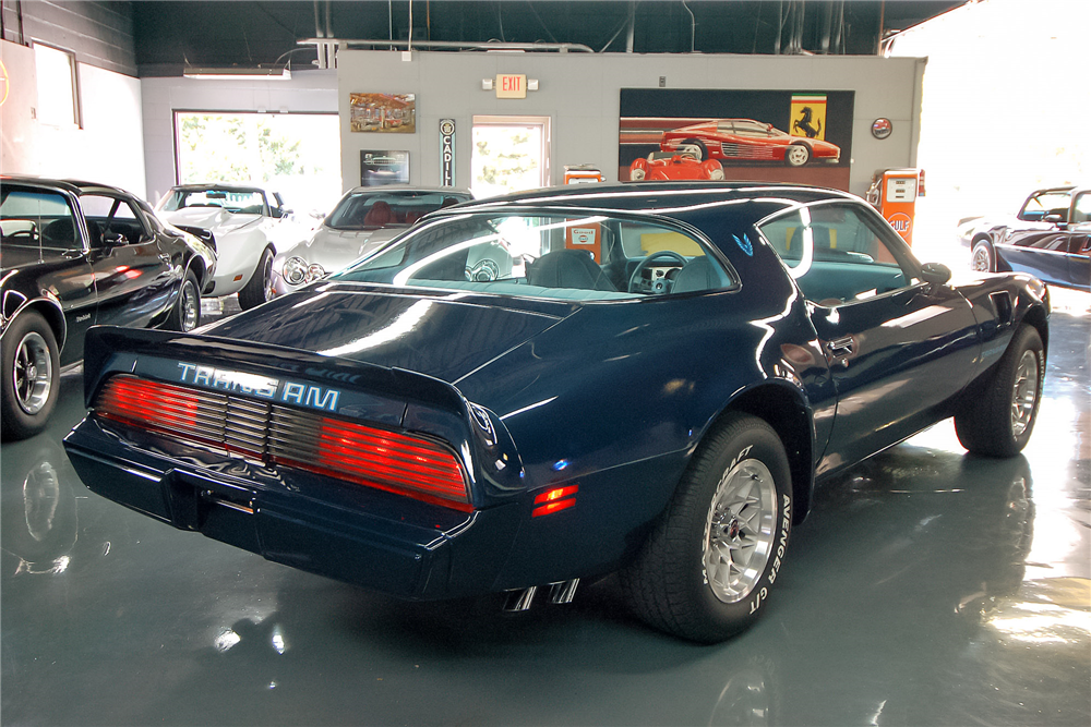 1979 PONTIAC FIREBIRD TRANS AM  - Rear 3/4 - 189055