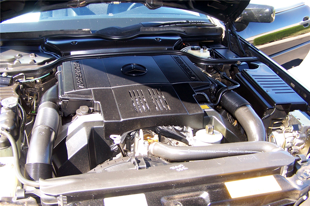 1995 MERCEDES-BENZ SL500 CONVERTIBLE - Engine - 189057