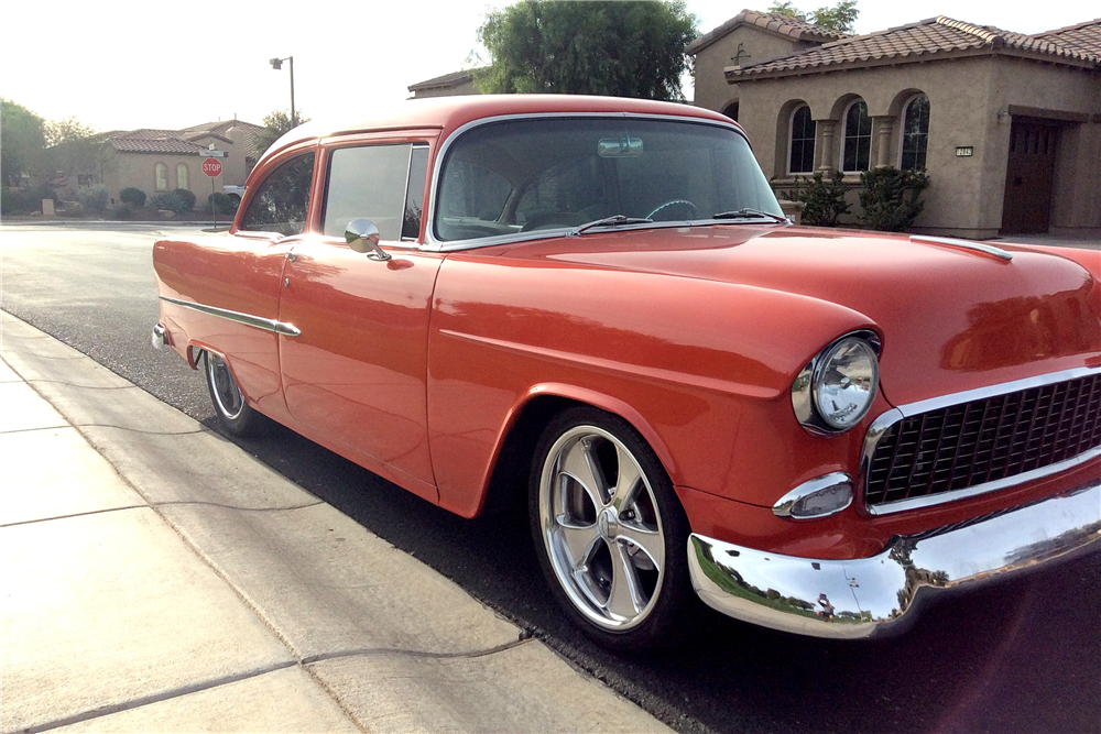1955 chevrolet 210 custom 2 door post 189060