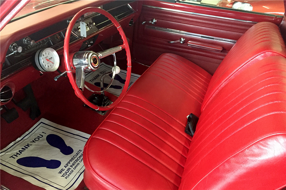 1966 CHEVROLET EL CAMINO PICKUP - Interior - 189063