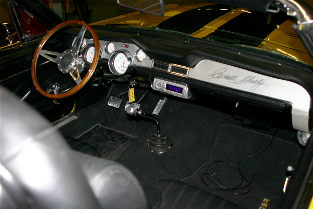 1968 SHELBY GT500 SR CUSTOM CONVERTIBLE - Interior - 189066