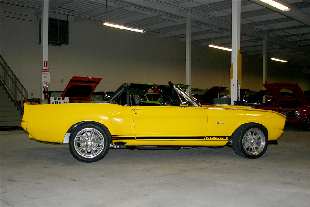 1968 SHELBY GT500 SR CUSTOM CONVERTIBLE - Side Profile - 189066
