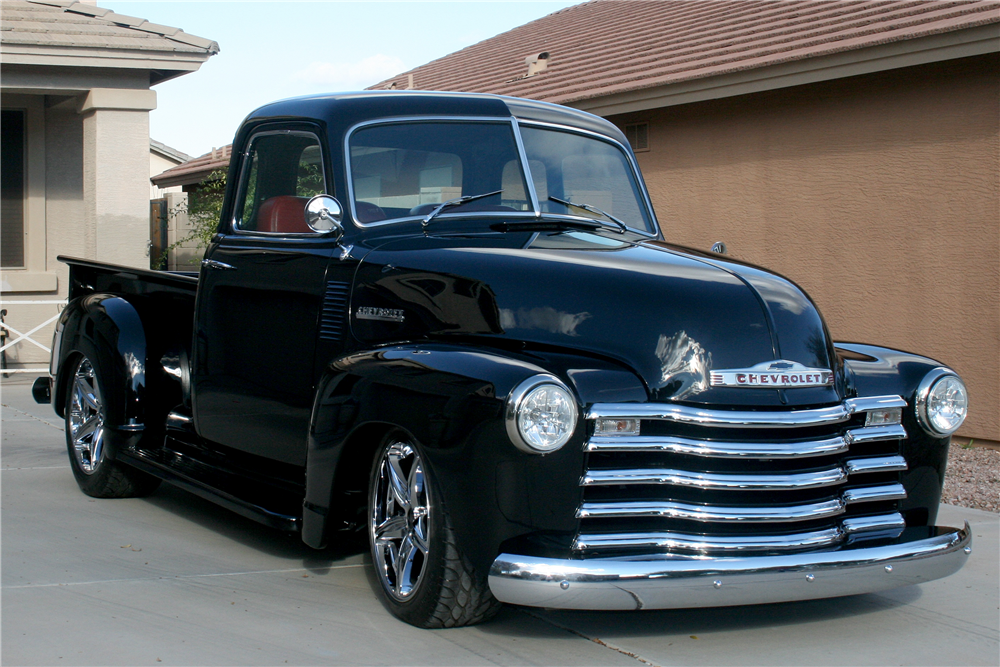 1950 chevrolet 3100 5 window custom pickup 189068