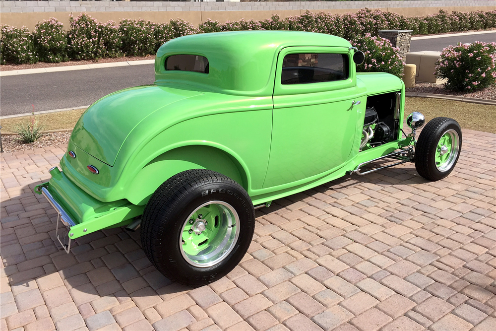 1932 ford 3 window custom coupe 189079 for 1932 3 window ford