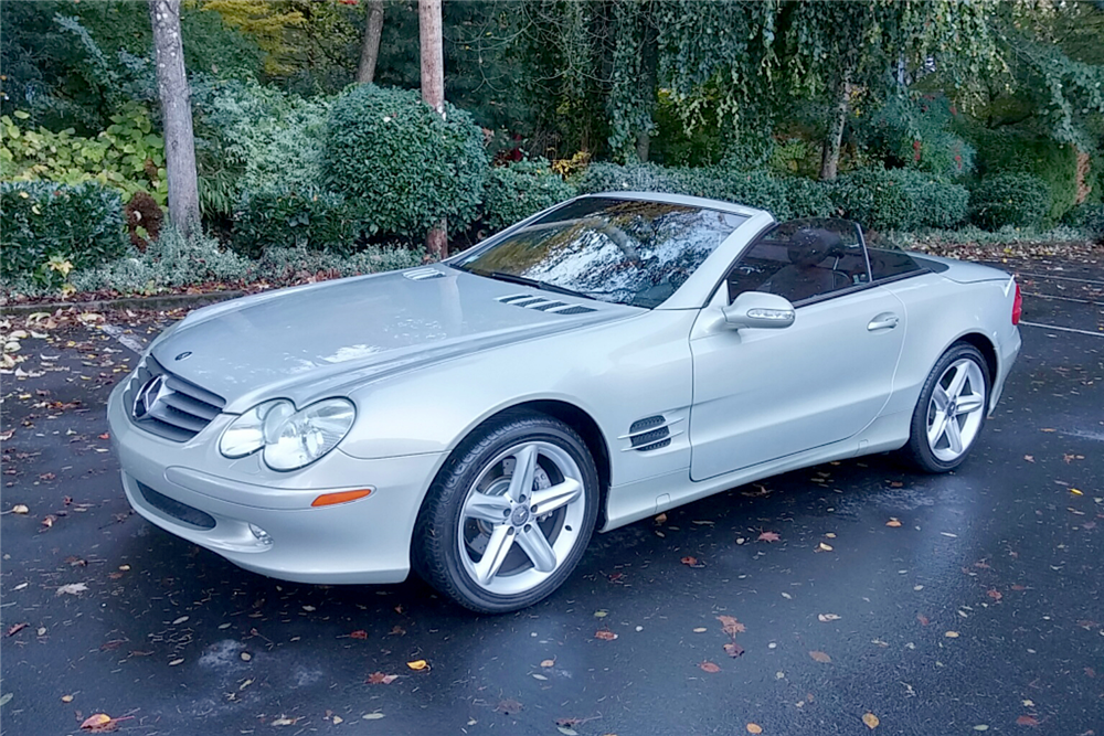 2003 mercedes benz sl500 convertible 189091 for Mercedes benz sl convertible