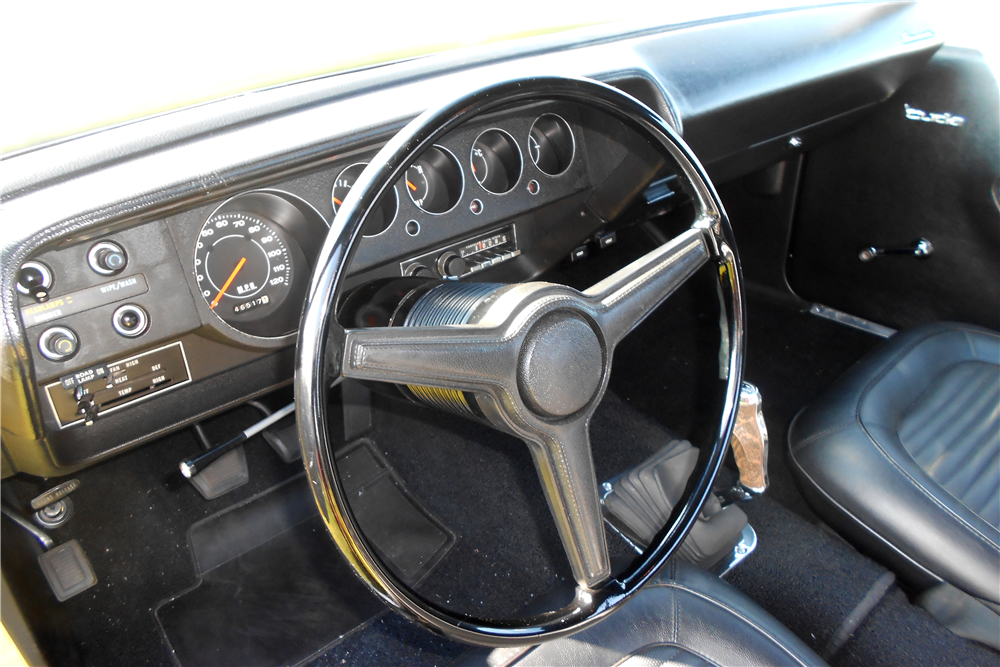 1970 PLYMOUTH 'CUDA  - Interior - 189097