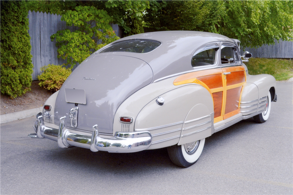 1948 CHEVROLET FLEETLINE AEROSEDAN - Rear 3/4 - 189102
