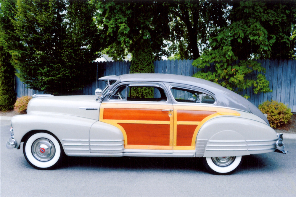 1948 CHEVROLET FLEETLINE AEROSEDAN - Side Profile - 189102