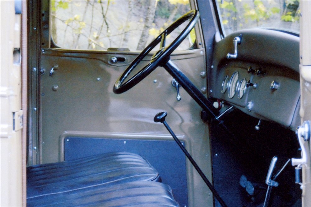 1936 CHEVROLET HALF-TON PICKUP - Interior - 189108