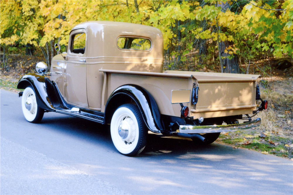 1936 CHEVROLET HALF-TON PICKUP - Rear 3/4 - 189108