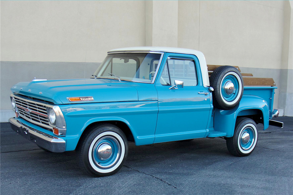 1969 FORD F-100 PICKUP - Front 3/4 - 189109