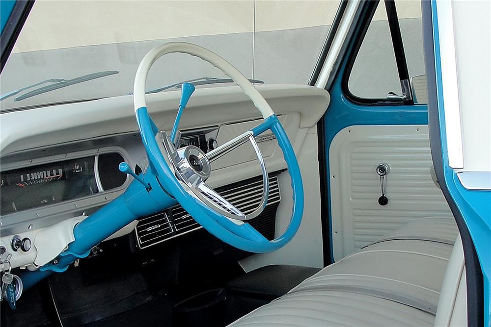 1969 FORD F-100 PICKUP - Interior - 189109