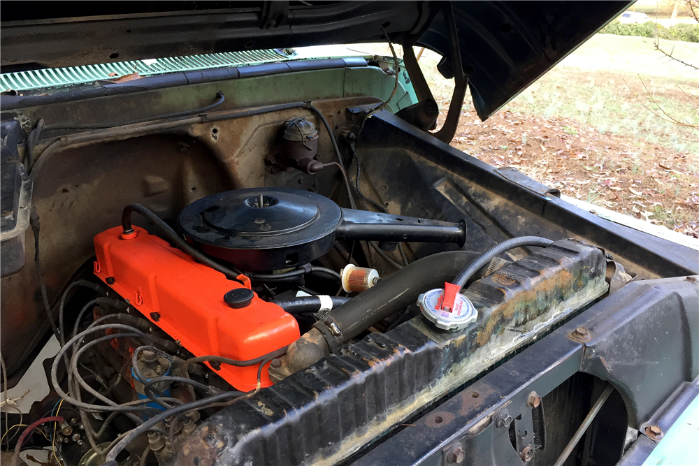 1966 CHEVROLET C-15 PICKUP - Engine - 189113