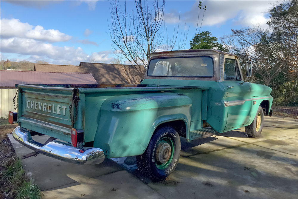 1966 CHEVROLET C-15 PICKUP - Rear 3/4 - 189113