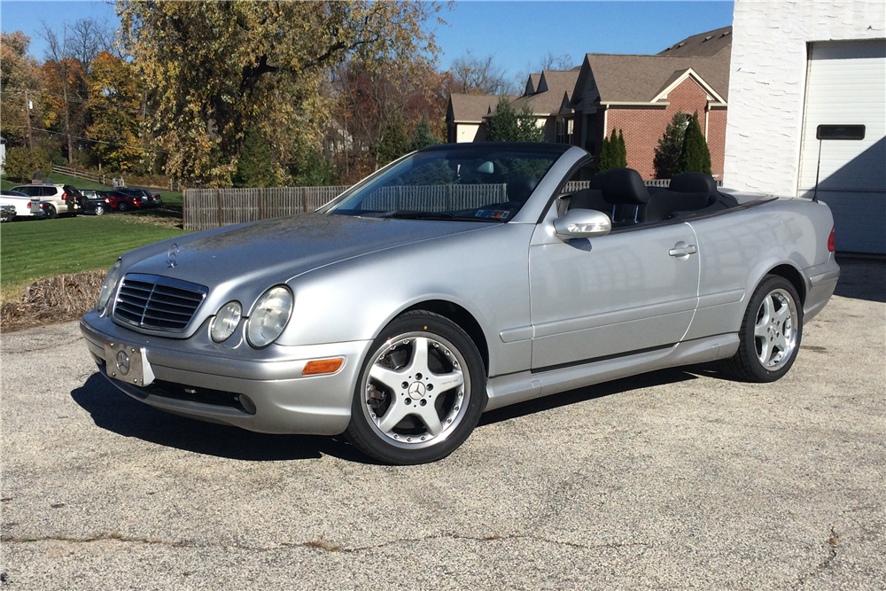 2002 mercedes benz clk 55 amg convertible 189120
