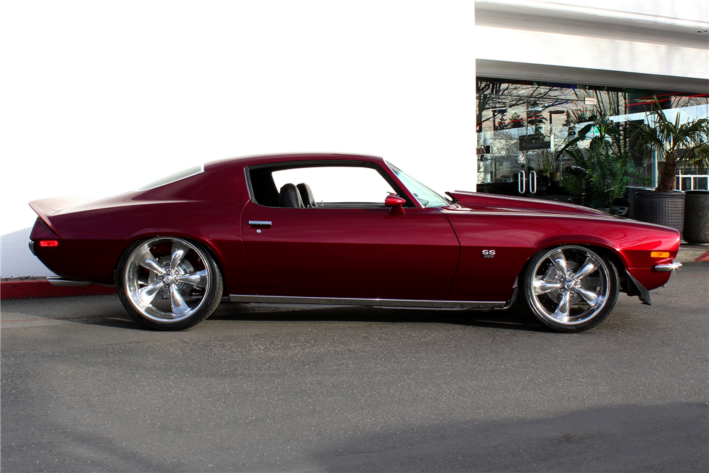 1971 CHEVROLET CAMARO CUSTOM COUPE - Side Profile - 189132
