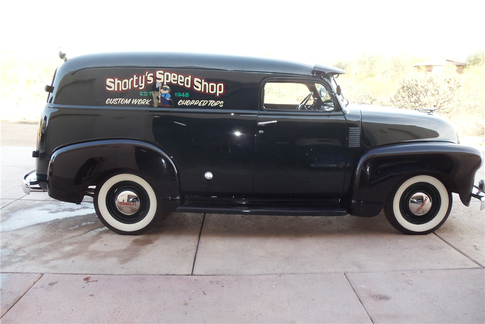 1948 CHEVROLET SUBURBAN CUSTOM PANEL - Side Profile - 189135