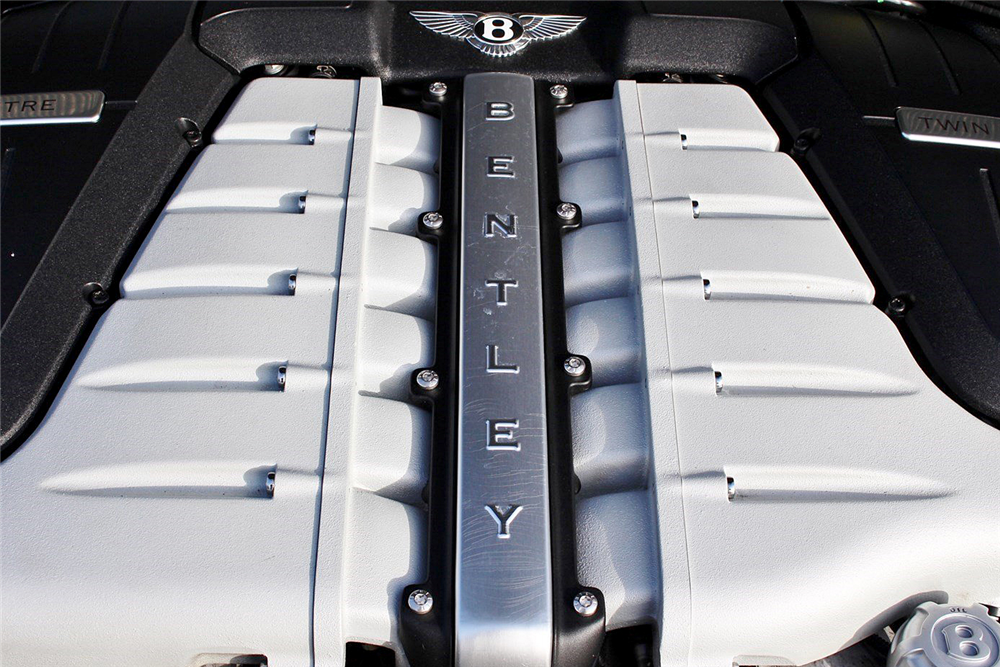 2009 BENTLEY CONTINENTAL GTC CONVERTIBLE - Engine - 189142