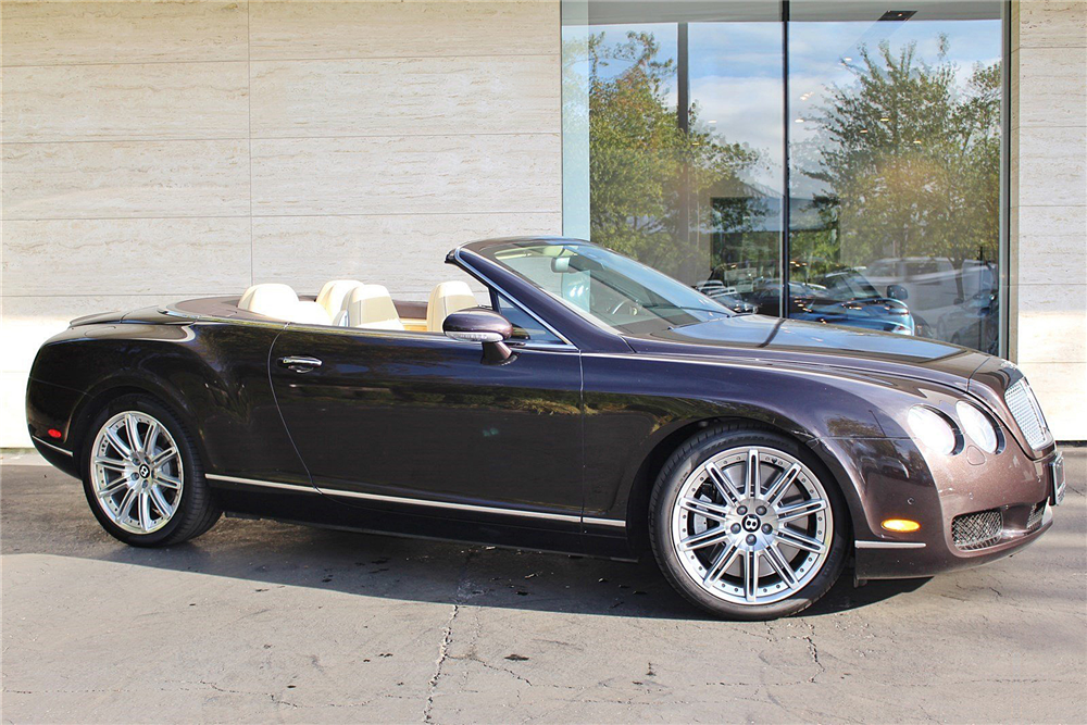 2009 BENTLEY CONTINENTAL GTC CONVERTIBLE - Front 3/4 - 189142