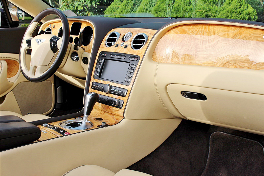 2009 BENTLEY CONTINENTAL GTC CONVERTIBLE - Interior - 189142