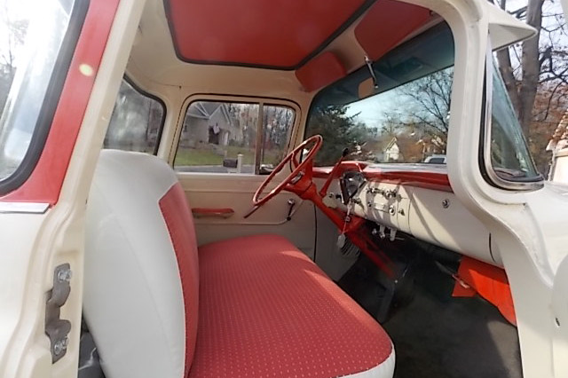 1956 CHEVROLET CAMEO PICKUP - Interior - 189147