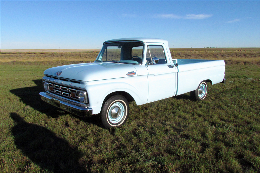 1964 FORD F-100 PICKUP - Front 3/4 - 189148