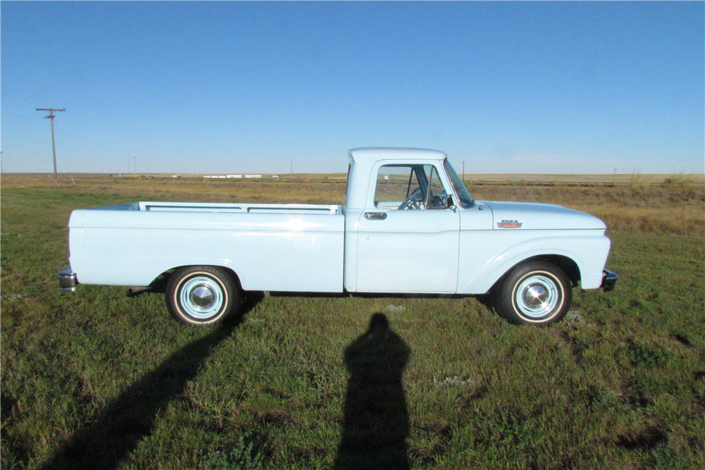 1964 FORD F-100 PICKUP - Side Profile - 189148