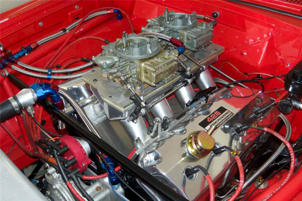 1964 PLYMOUTH SAVOY CUSTOM DRAG CAR - Engine - 189151