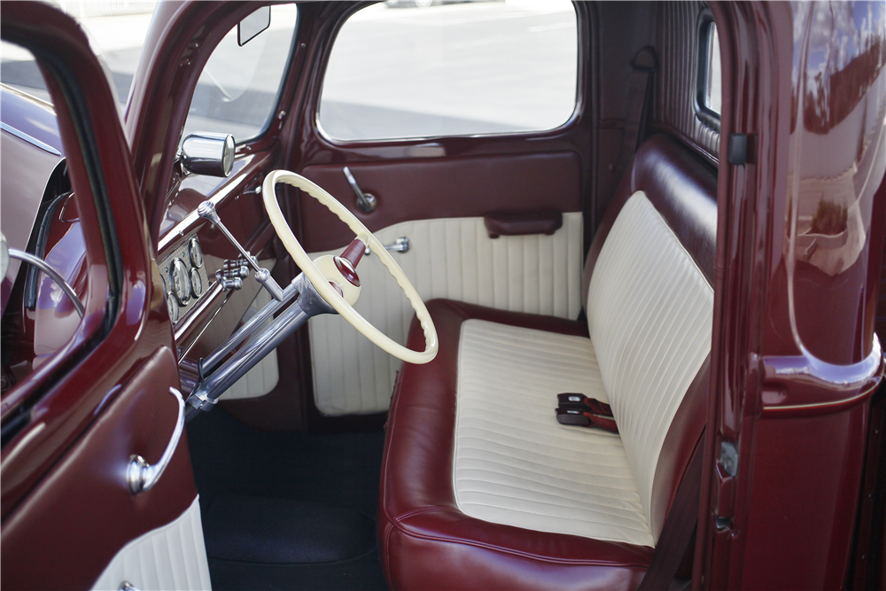 1941 FORD CUSTOM PICKUP - Interior - 189154