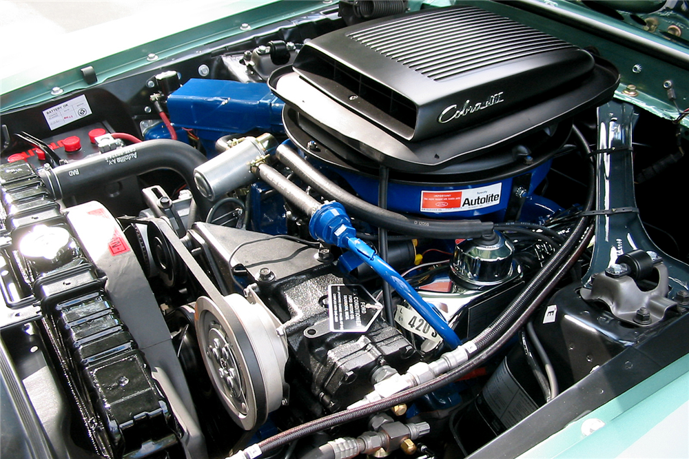 1969 FORD MUSTANG 428 CJ R-CODE - Engine - 189157