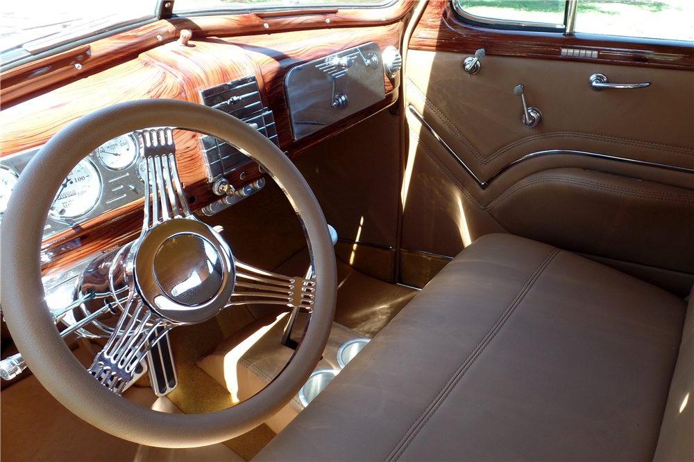 1938 CHEVROLET MASTER CUSTOM COUPE - Interior - 189169