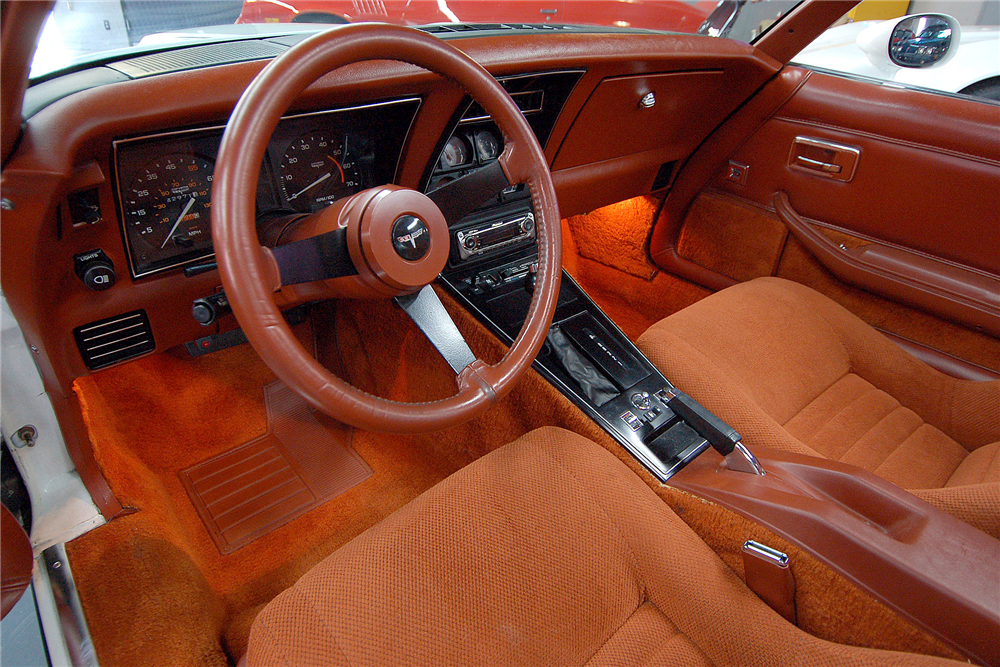 1981 CHEVROLET CORVETTE  - Interior - 189170