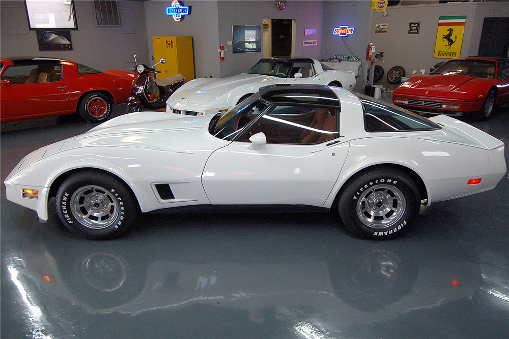 1981 CHEVROLET CORVETTE  - Side Profile - 189170