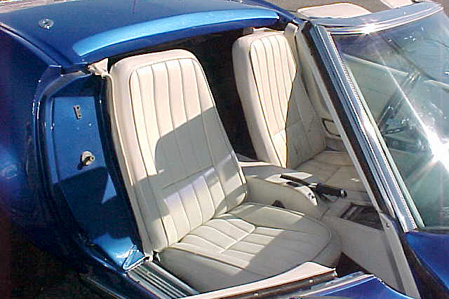 1969 CHEVROLET CORVETTE - Interior - 189178