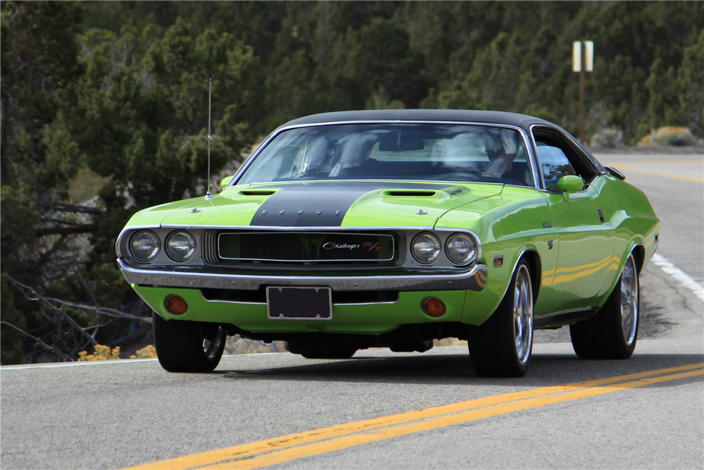 1970 DODGE CHALLENGER R/T SE RE-CREATION - Front 3/4 - 189182
